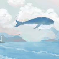 水蓝色的糖宝宝
