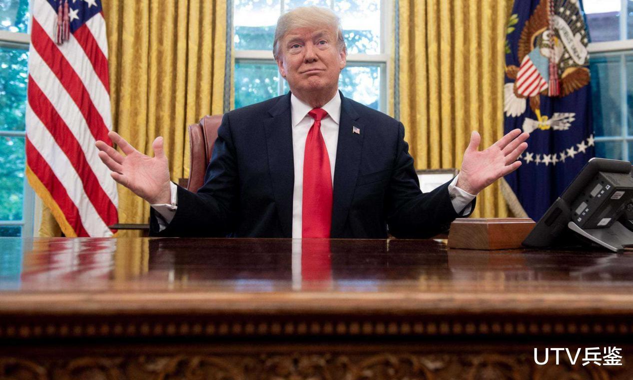 特朗普竟被女記者氣走瞭,吹噓政績被戳穿,滿臉憤怒負氣離場-圖5