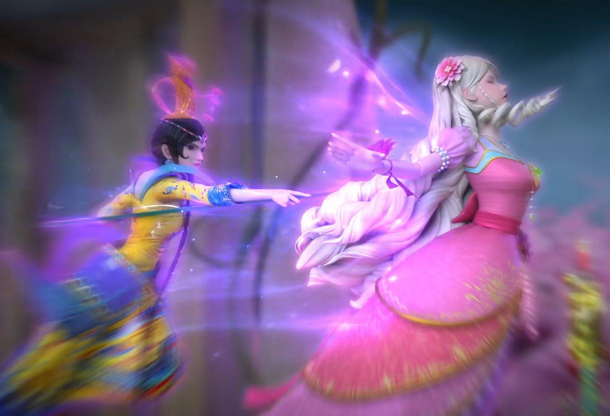 葉羅麗:靈公主從出現開始,一直被挨打從沒停止過,成為最慘角色-圖5
