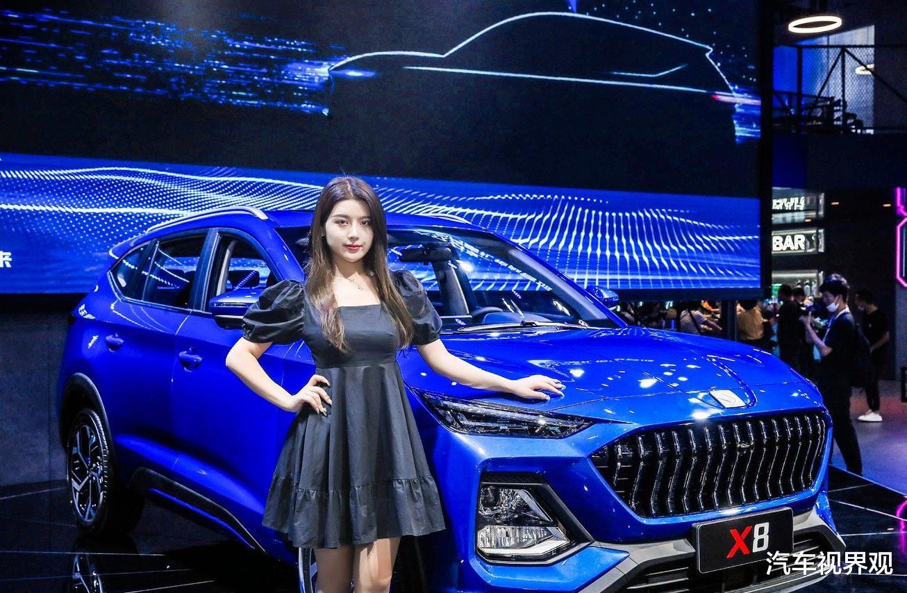 3款全新國產SUV,集體亮相成都車展,江淮嘉悅X8首次現身-圖3