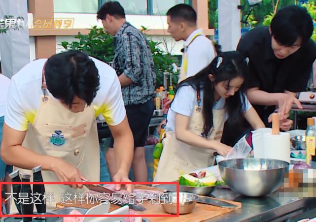 趙麗穎握刀手法錯誤,劉宇寧著急的忘喊姐,導演也不幫他改字幕-圖5
