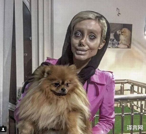 為走紅網上假裝僵屍版安吉莉婭朱莉,伊朗女孩被判入獄十年-圖6
