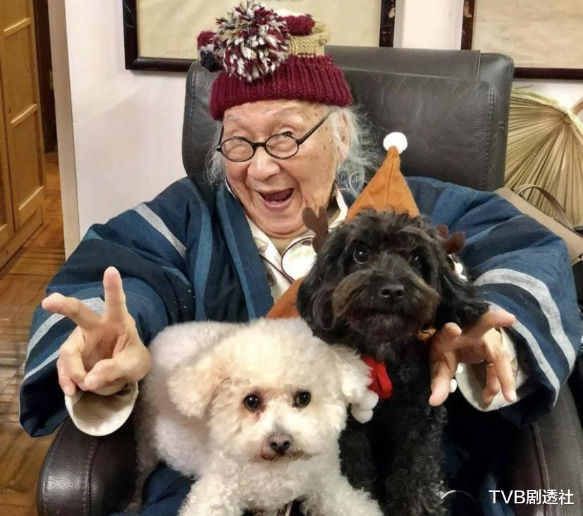 恭喜!香港資深老戲骨再度榮升為太姥爺,四世同堂96歲仍老當益壯-圖3