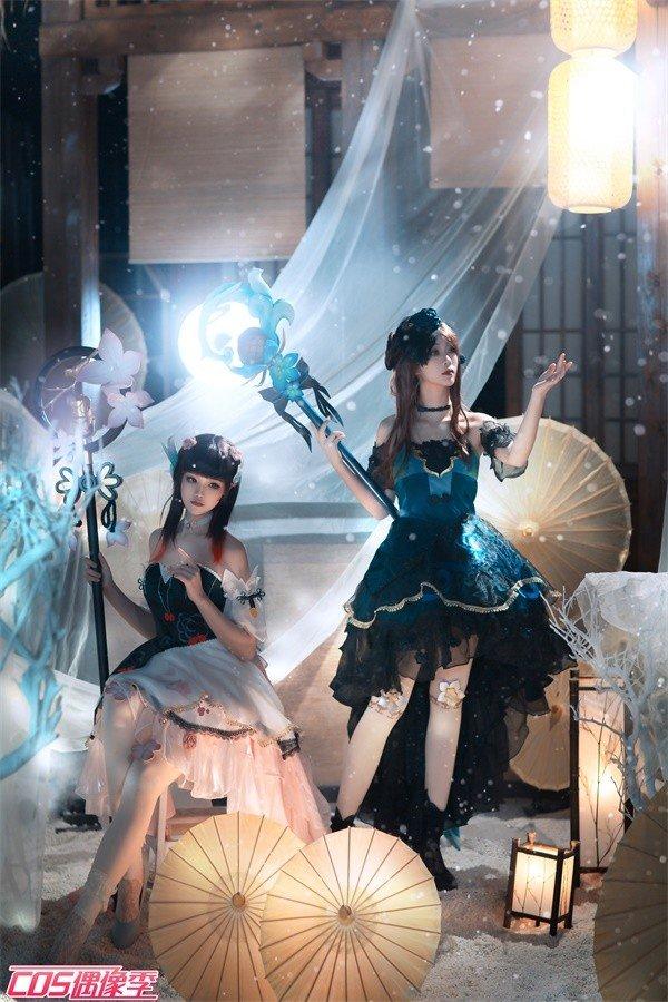 cosplay:《王者榮耀》王昭君雙人舞-圖3