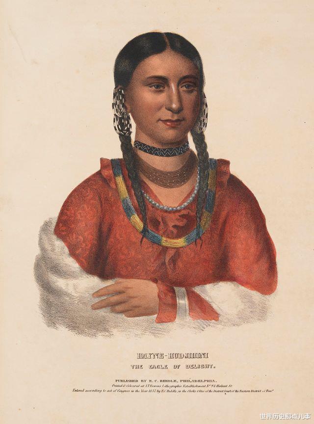 舊影拾記:19世紀,印第安人到華盛頓談判,美國畫傢給他們畫像-圖8