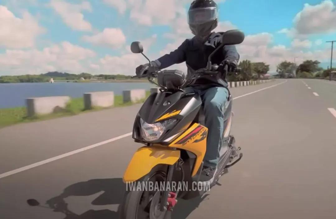 """""""越野""""踏板紮堆?鈴木發佈新款125cc跨界踏板-圖3"""