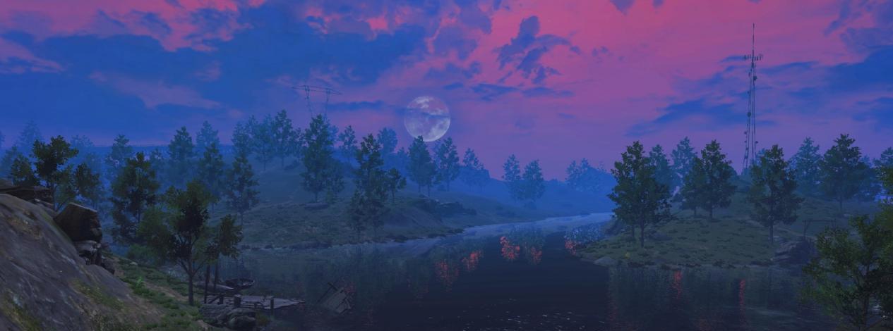 奥拉星白虎怎么打_这款生存游戏画面有多美?玩家差点因沉迷风景而忘记求生-第7张图片-游戏摸鱼怪