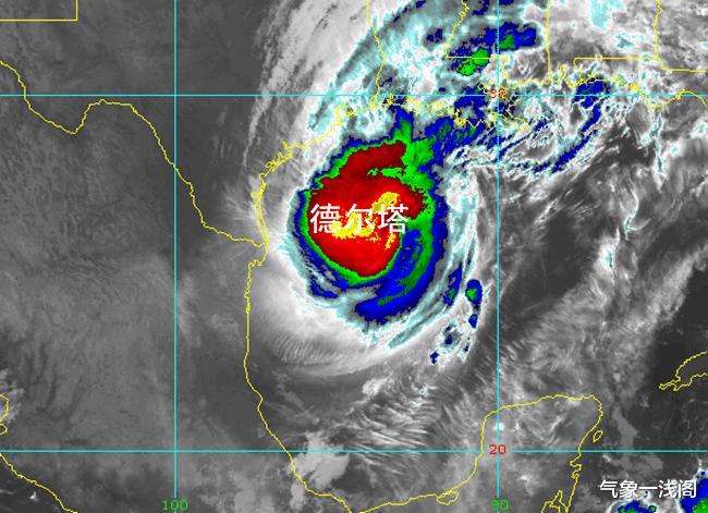 再次增強到16級,風暴德爾塔或馬上登陸,大暴雨紮堆襲擊美國-圖3