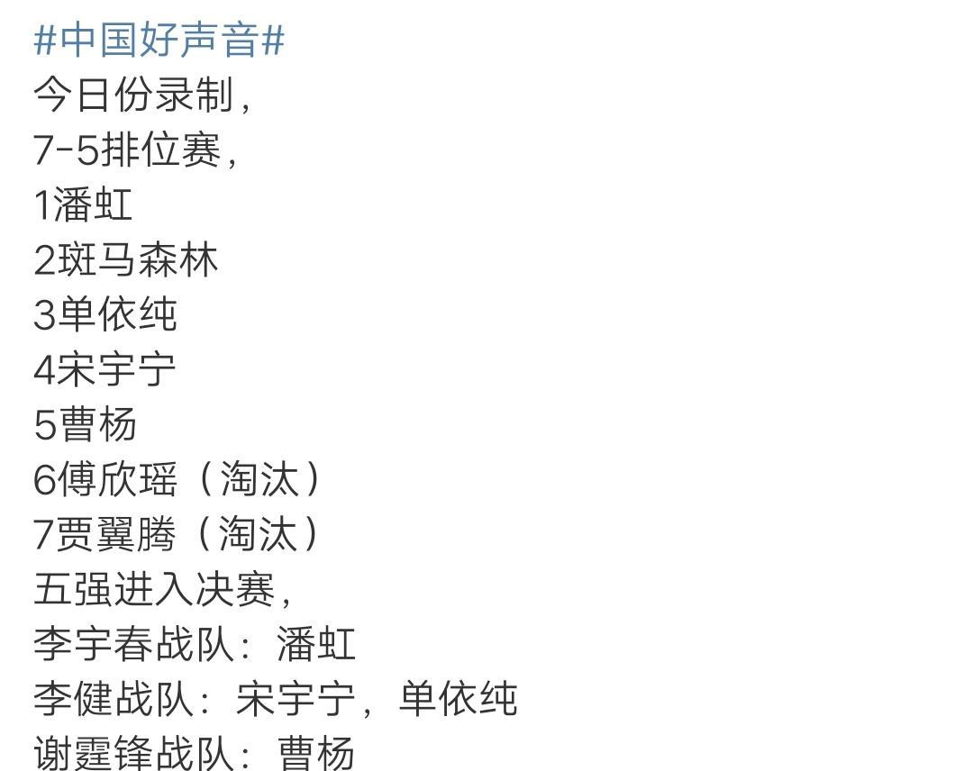 刺胡事件_中国好声音:单依纯7进5排名第三,离冠军更近一步,原因有两点-第3张图片-游戏摸鱼怪