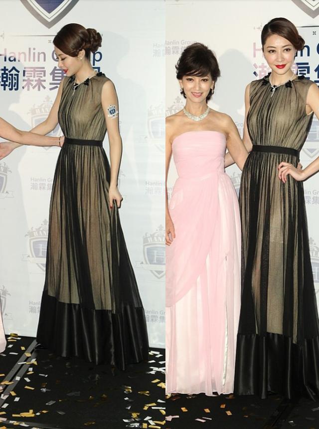 熊黛林這身裙子,真是讓她穿出瞭別樣韻味,看著性感但卻不低俗-圖4