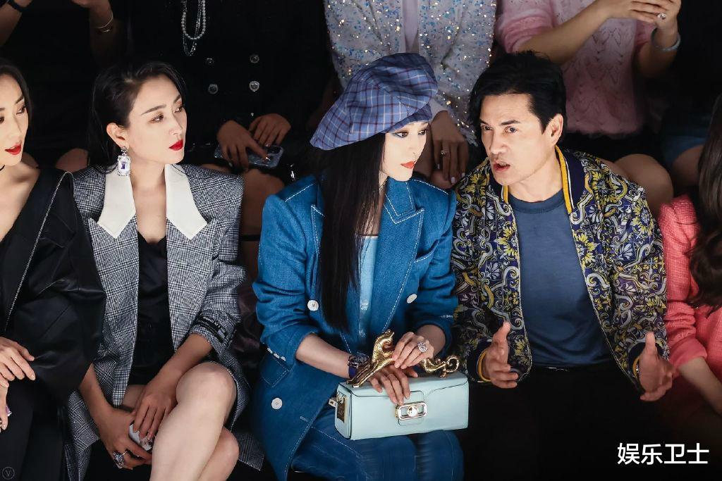 范冰冰參加上海時裝周,被特殊照顧顯大花身份,與馬蘇同框全程避嫌無交流-圖4