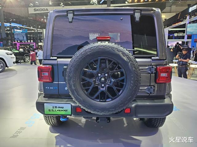Jeep全新越野車亮相北京車展,網友:買不起大G就看它-圖5