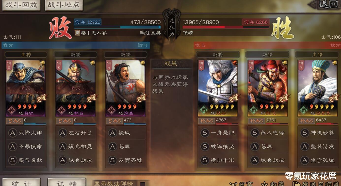三國志戰略版:四星武將的高光時刻,吊打蜀槍等雜牌五星隊伍-圖6