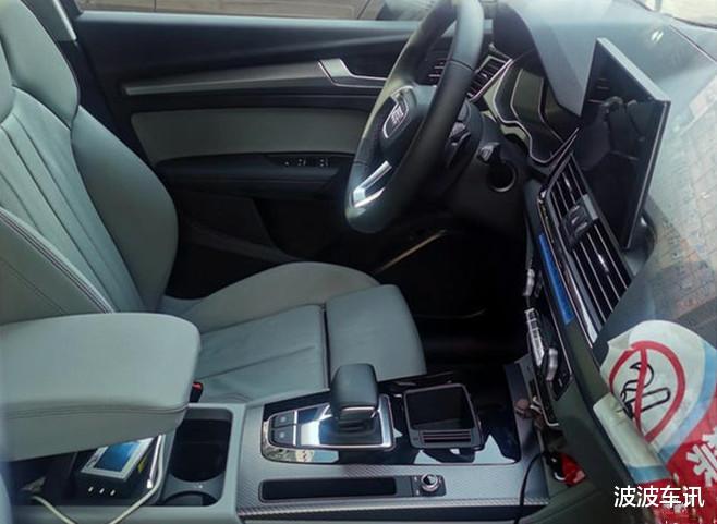 新款國產奧迪Q5L無偽裝實車曝光,前臉采用瞭全新的設計-圖5