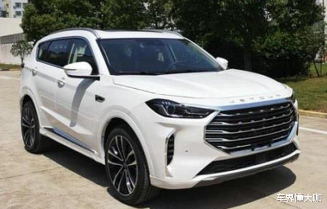 全新捷途X70品味提升,變身6.99萬豪華SUV,配4根尾排-圖5