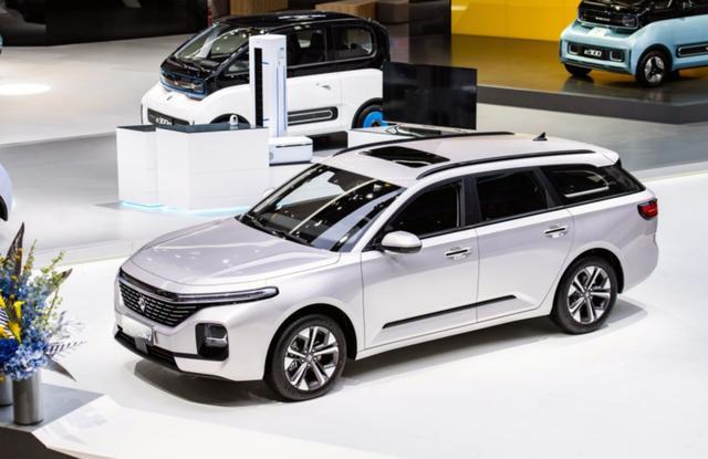 2020北京車展,四款國產車成名,一款比一款科技,最低7萬多-圖7