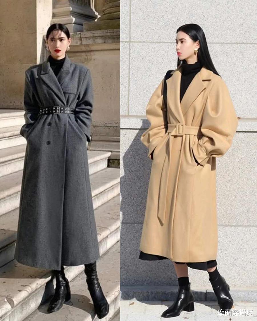 初冬大衣別亂穿,跟著時髦精學「招數」,走出模特氣場