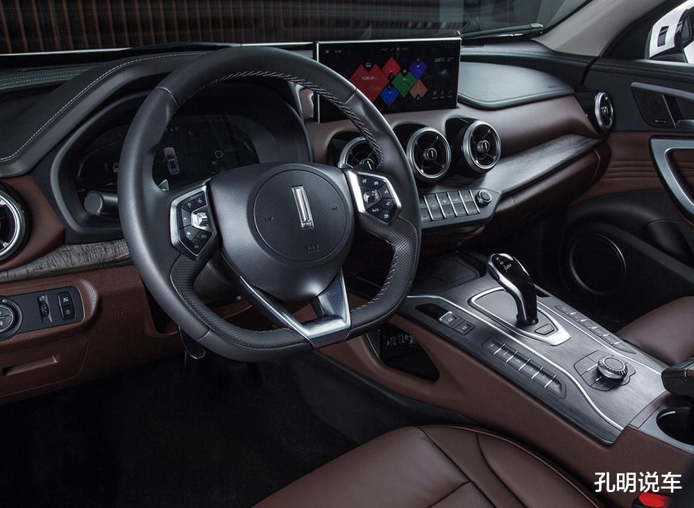"""國產豪華SUV""""領導者""""名不虛傳,科技版VV7價格膨脹!後排帶屏幕-圖6"""