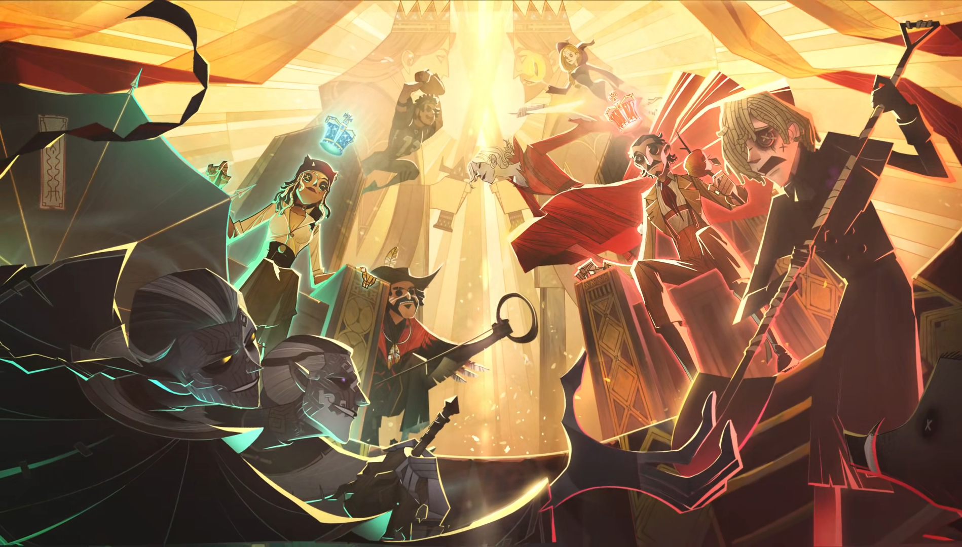 """反恐精英ol_第五人格:玩家想要""""诸神之战"""",所有角色重回T0,谁将称王?"""