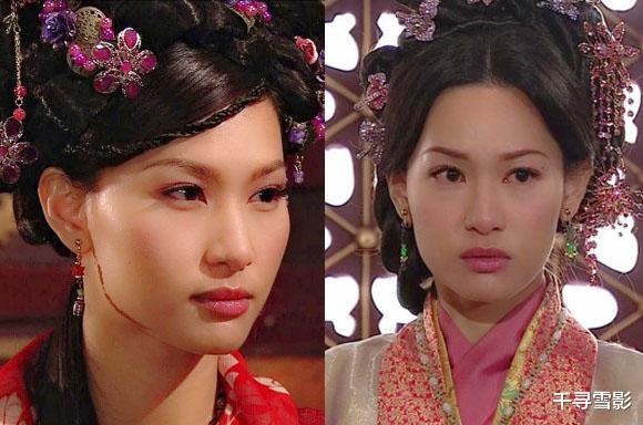 古裝劇裡的那些孿生姐妹,相同的容貌不同的裝扮和氣質,誰更勝一籌?-圖4