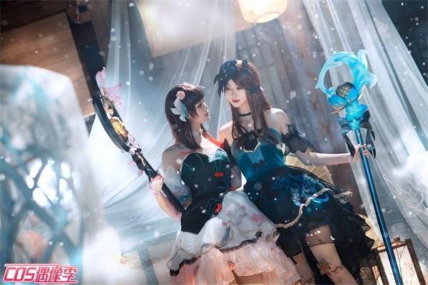 cosplay:《王者榮耀》王昭君雙人舞-圖4