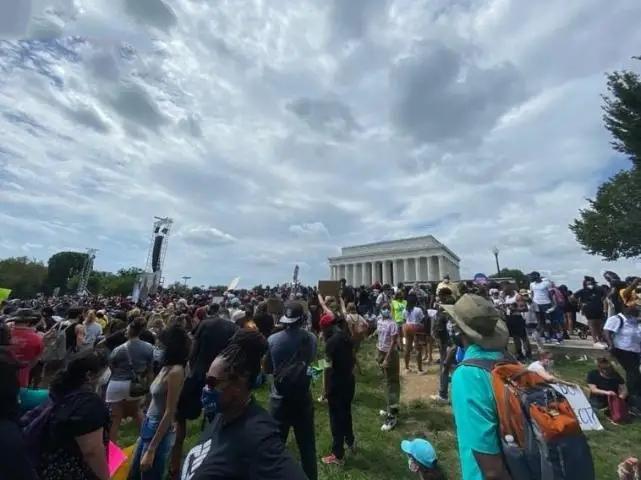 美國華盛頓又爆發大遊行-圖2