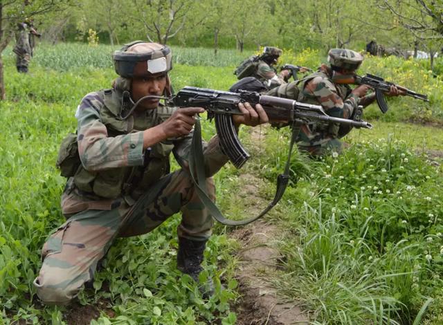 印媒:印度一軍官在克什米爾實控線附近被對面狙擊手射殺-圖2