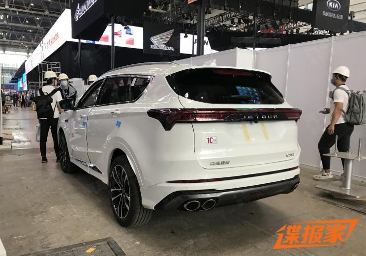捷途最新款X70實車-圖2