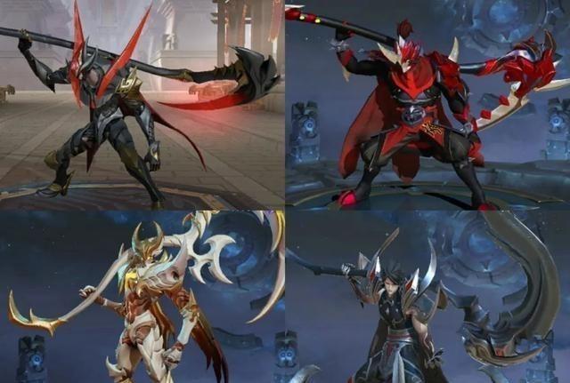 黑暗时代_天美偷懒实锤,这5个英雄锚点非常明显,上线3年武器都没换过!