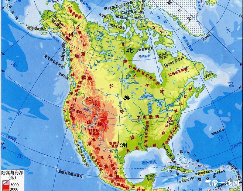德爾塔登陸,雲系覆蓋美國14州,北美新冷渦又啟動,暴雨暴雪齊來-圖6