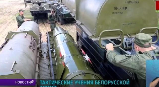 白俄羅斯彈道導彈集群曝光,已在邊境完成集結,北約:有話好好說-圖2