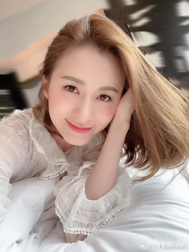 """TVB""""最美綠葉""""沈卓盈,結婚後要做充滿正能量的人-圖2"""