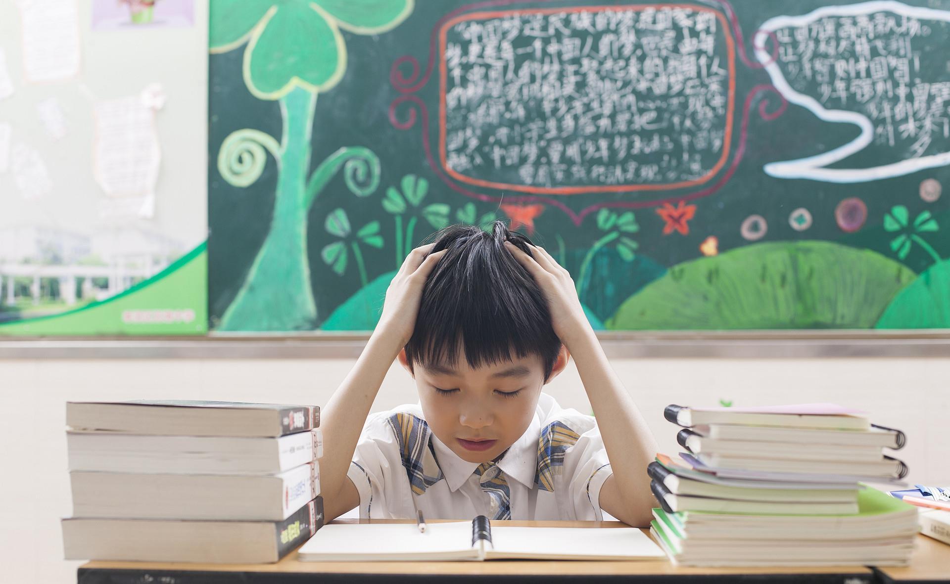 幽灵猛虎王_同样是做寒假作业,但小学高中区别甚大,你有没有同感呢?-第3张图片-游戏摸鱼怪