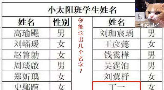 """韩国网络红人美女_有种""""崩溃""""叫幼儿园老师点名,16个名15个不会念,老师:太难了-第3张图片-游戏摸鱼怪"""