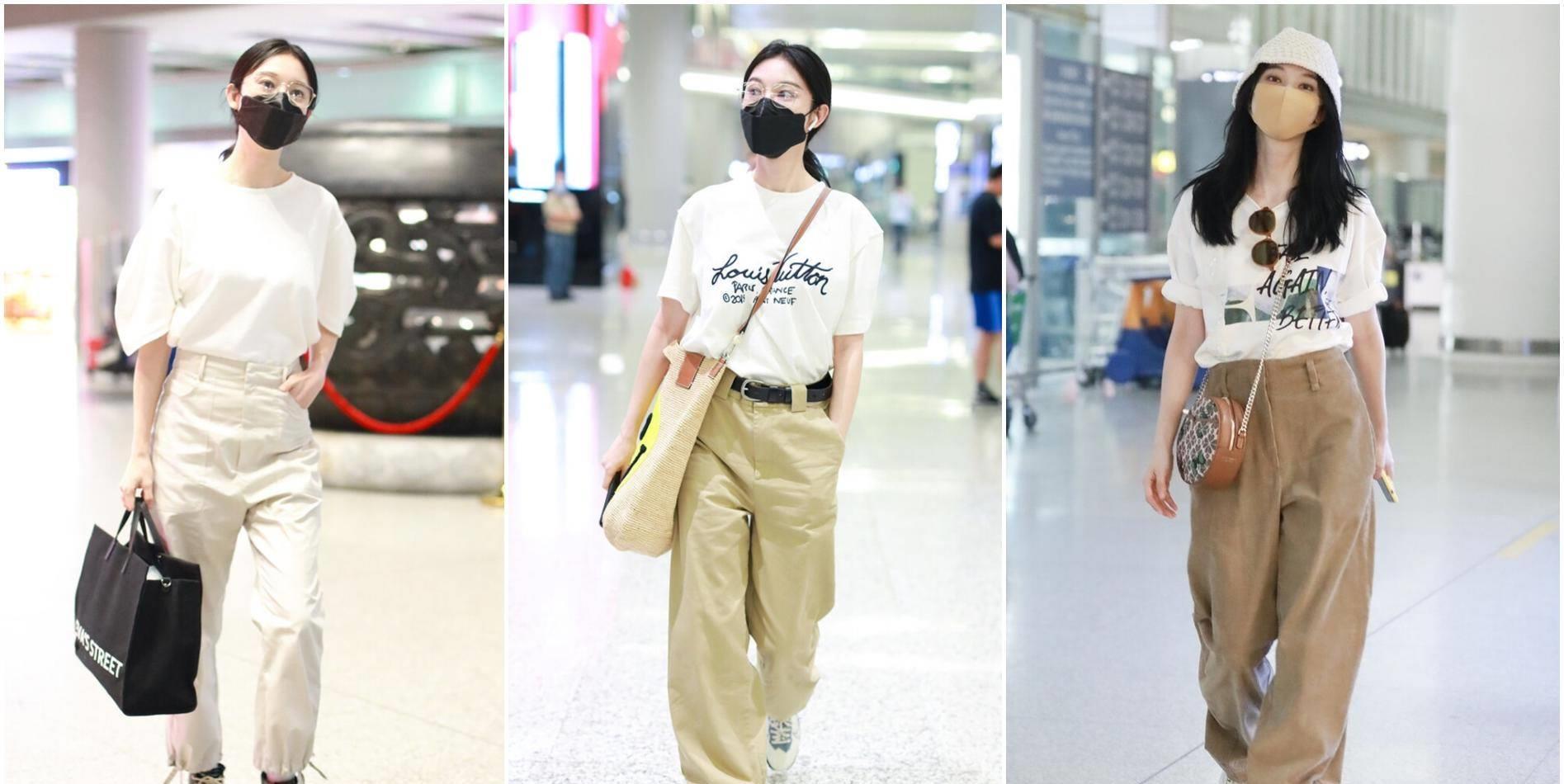 33歲張儷露臍裝+工裝褲,實力秀螞蟻腰,好身材不當模特可惜瞭-圖9