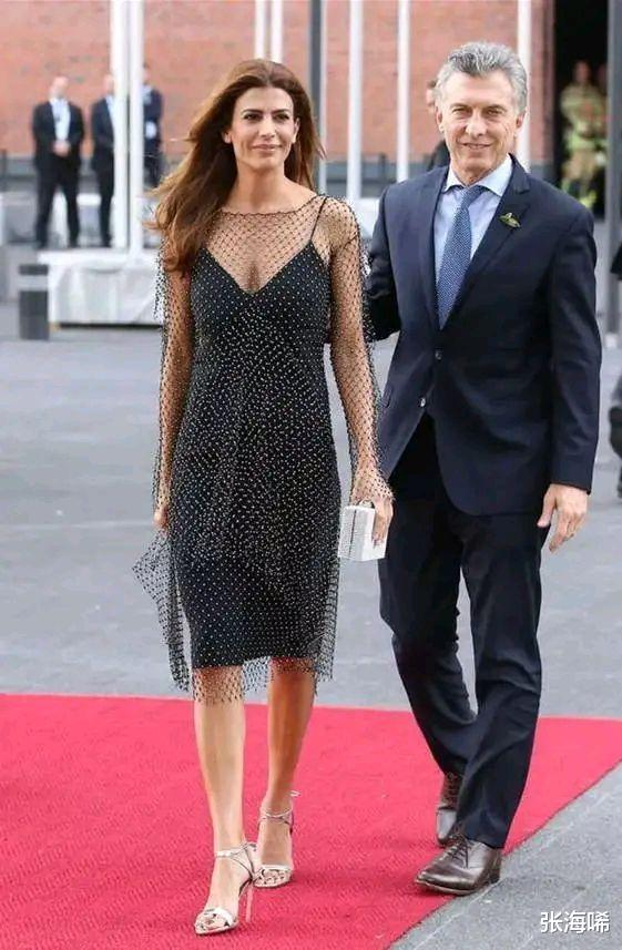 阿根廷第一夫人35歲三婚帶娃嫁給總統,特朗普也驚嘆於才華-圖7