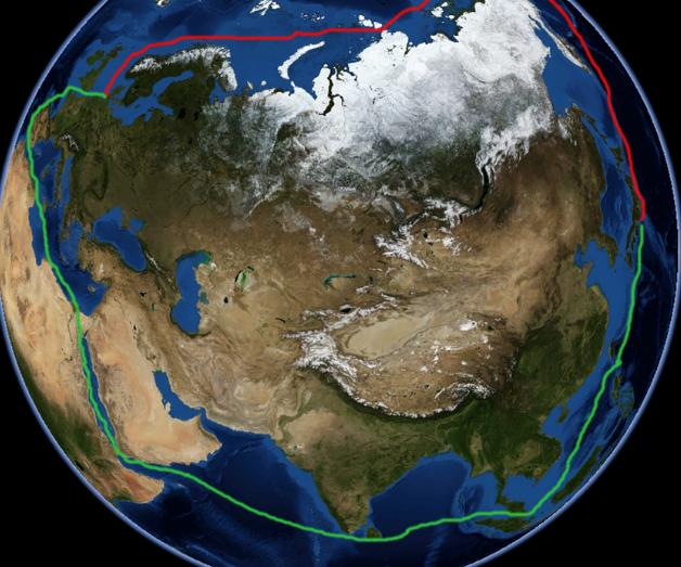 為尋找中國,一群人向北極航行,後成世界最強國,占瞭中國一個島-圖2