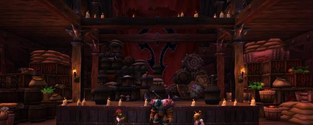 《魔獸世界》部落玩傢拒絕宣誓,四年來一直停留在無人的奧格瑪-圖4