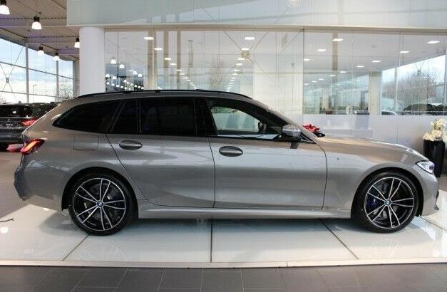"""新款寶馬3系旅行車實車現身,尺寸增加,經典""""雙腎""""依然保留-圖4"""