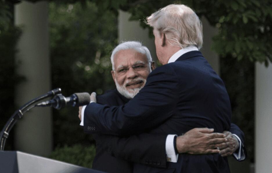"""與美通航5天後,印度首都""""淪陷""""-圖2"""