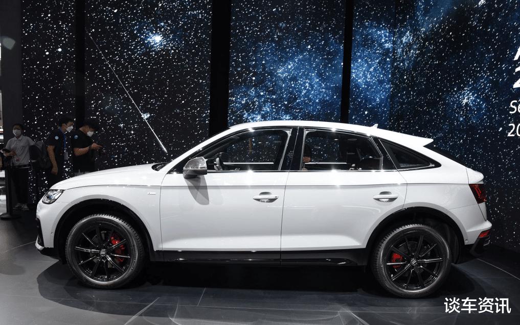 """""""奧迪Q5轎跑版""""將上市,配252匹2.0T高功引擎,燈組設計很科幻-圖2"""