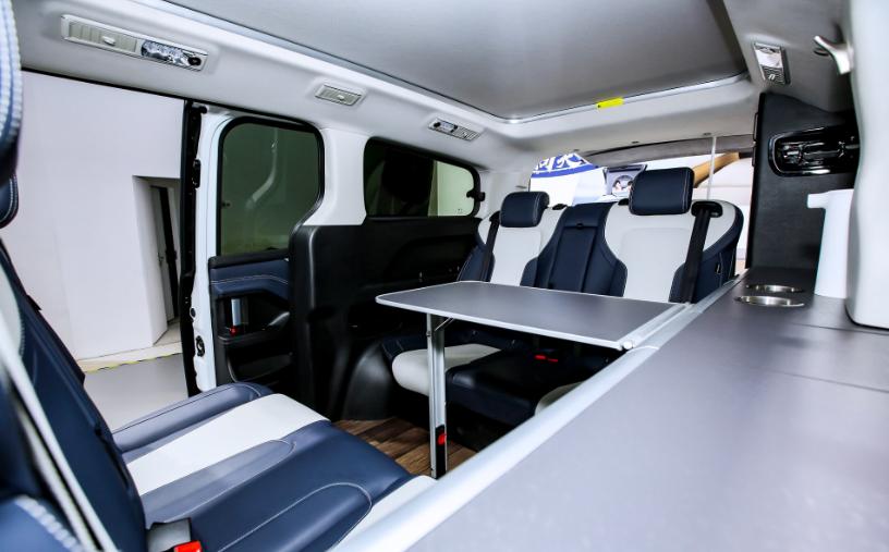 上汽大通推出全新旅居車RG20,一款兼具MPV與房車功能的全能王-圖9