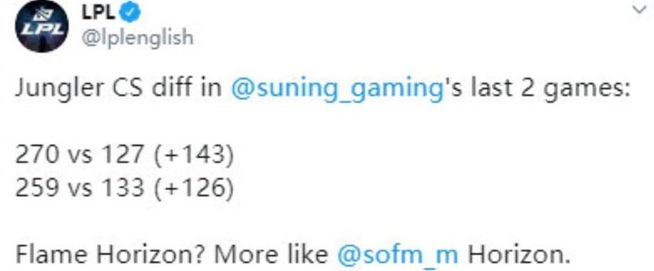 "SN打成小組第一,SofM""百刀科目四""火瞭,一戰打破S10兩項紀錄-圖3"
