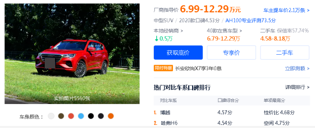 起售不到5萬的三款大空間高顏值車型,看似很貴實則真香-圖3