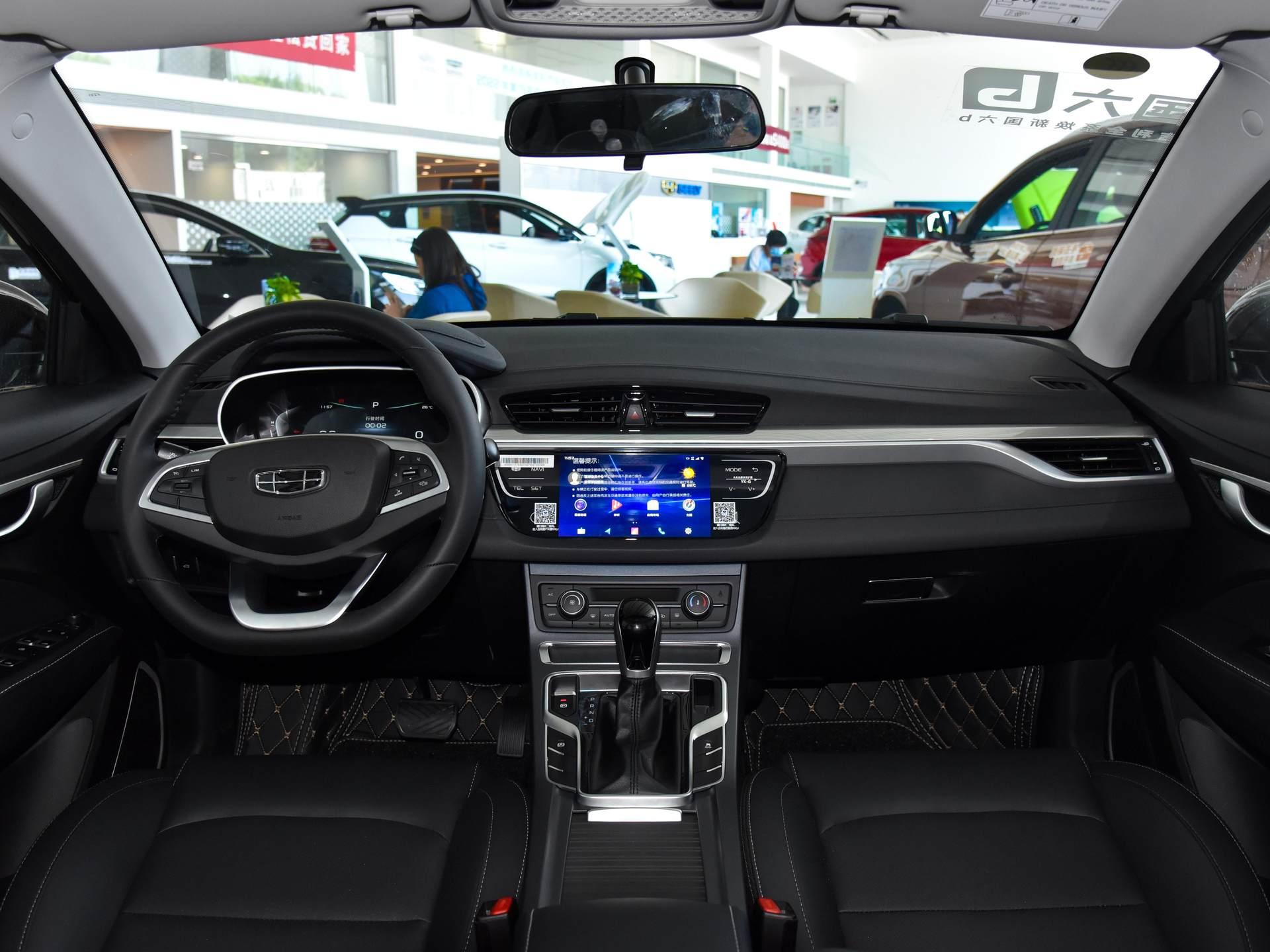 吉利造出親民小傢轎,2650mm軸距空間大,7萬價格配CVT,看瞭想入手-圖4