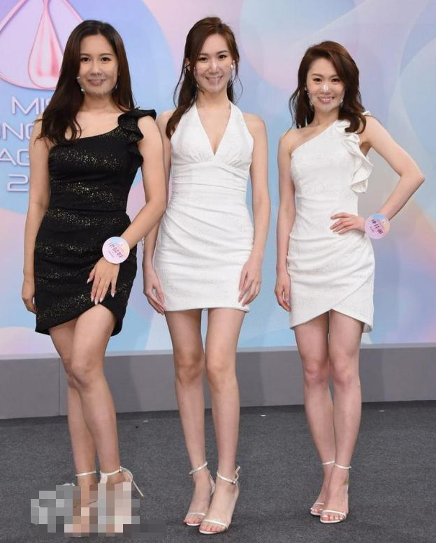 2020香港小姐15強結果出爐,眾佳麗戴透明口罩現身發佈會爭奇鬥艷-圖2