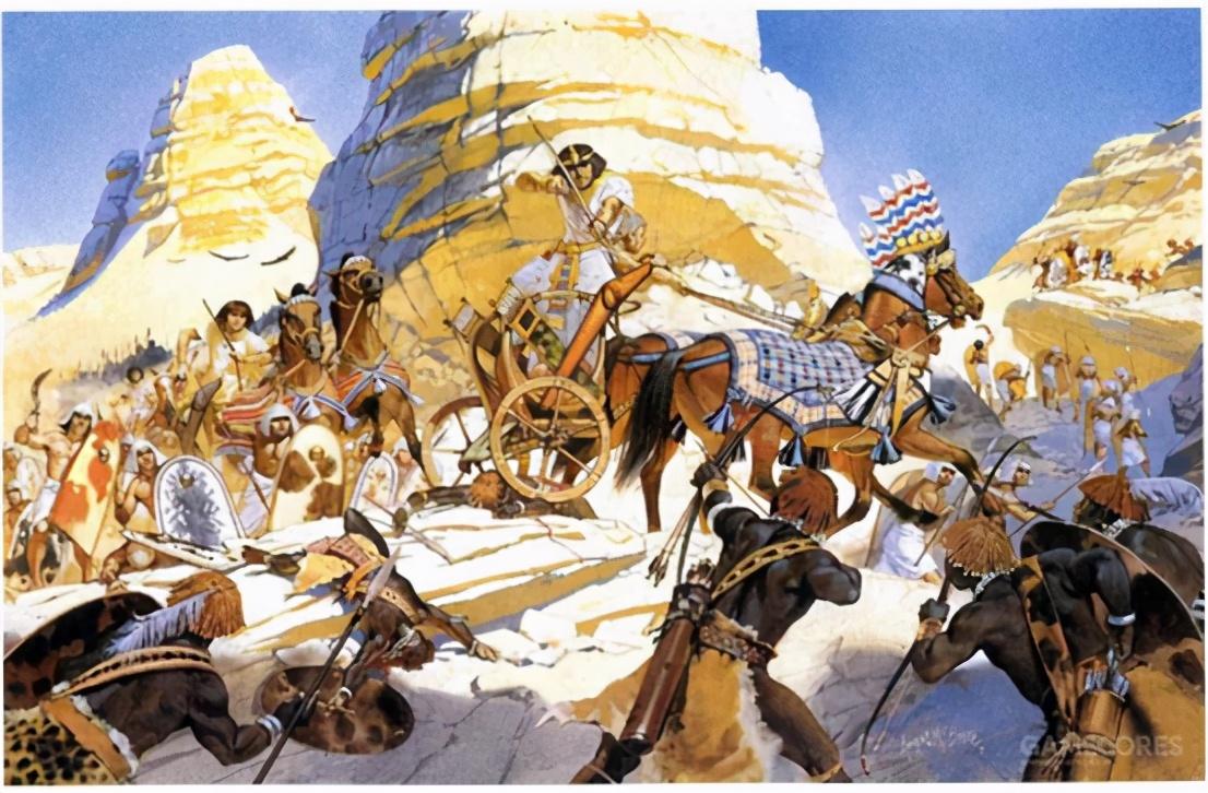 """编程入门_这才是真正的""""埃及之战""""!千万人开团的场景你确定不来看看?-第1张图片-游戏摸鱼怪"""