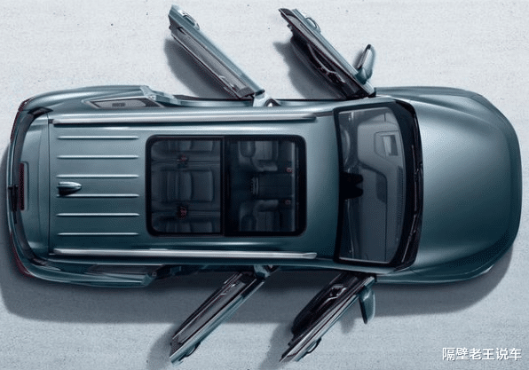 """""""漢蘭達高仿版"""",上市首月銷量3000輛,全系1.8T,僅10萬起步-圖3"""