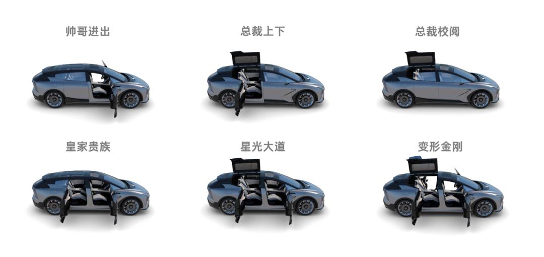 6扇車門,6種開啟方式,這臺國產SUV實在太猛瞭-圖3