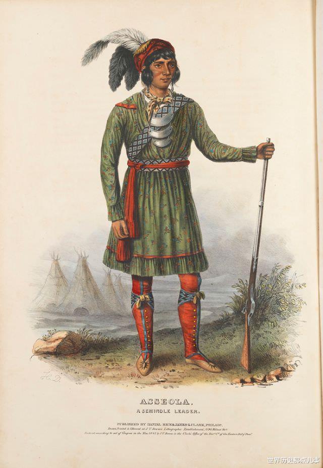 舊影拾記:19世紀,印第安人到華盛頓談判,美國畫傢給他們畫像-圖5